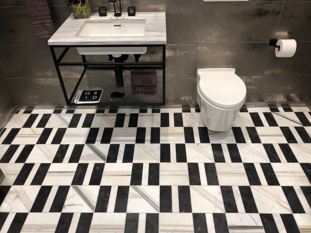 geometric tile - top home trends