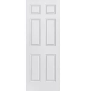 30'' 6 Panel Single Interior Prehung Fiberglass Entry Doors at Builders Surplus in Louisville