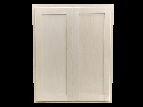 ... 24 X 12 Unfinished Alder Shaker Wall Kitchen Cabinet. Prev