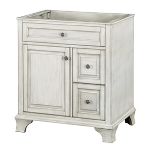 30'' Single Antique White Furniture Style Vanity
