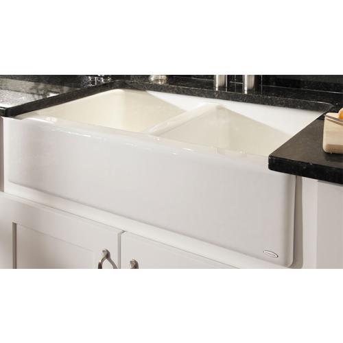 Cast Iron Apron Front Farmhouse 33 X 22 X 8 75 White Kitchen Sink Builders Surplus