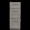 "12"" Drawer Base Grey Shaker Vanity"