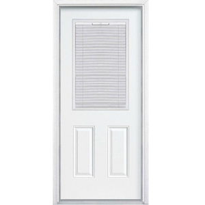 36 Quot Half View Mini Blinds Fiberglass Single Exterior