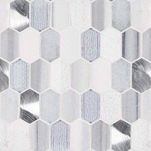 8mm Harlow Picket Mosaic Tile at Builders Surplus in Louisville Kentucky