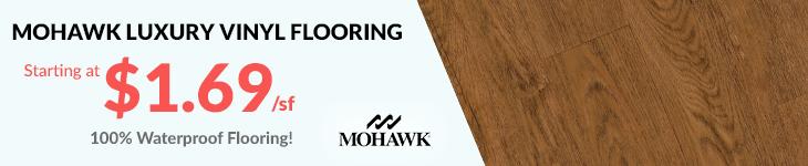 mohawk LVT flooring