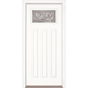 "36"" White Fiberglass Cameron Craftsman Single Prehung Right Hand Entry Door Fiberglass Entry Doors at Builders Surplus in Louisville"