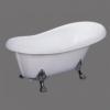 Victoria Chrome Clawfoot Tub