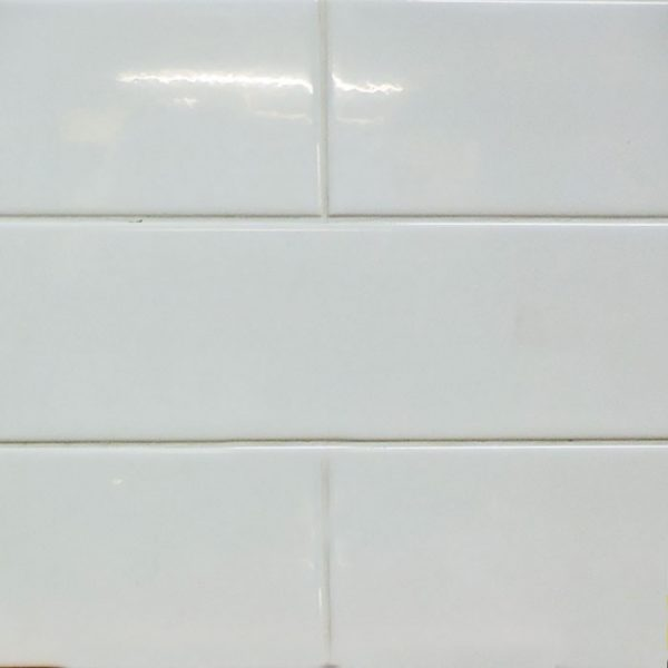 4x16 Glossy White Ceramic Subway Tile