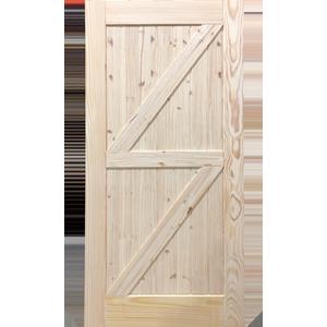 84'' Barn Single - Z Style Interior Slab Fiberglass Entry Doors at Builders Surplus in Louisville