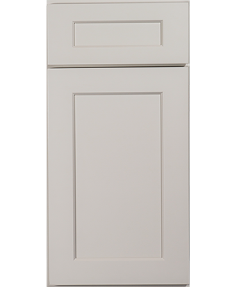 Ginger Creek Cabinets dove grey door