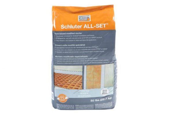 Schluter ALL-SET White 50lb Bag