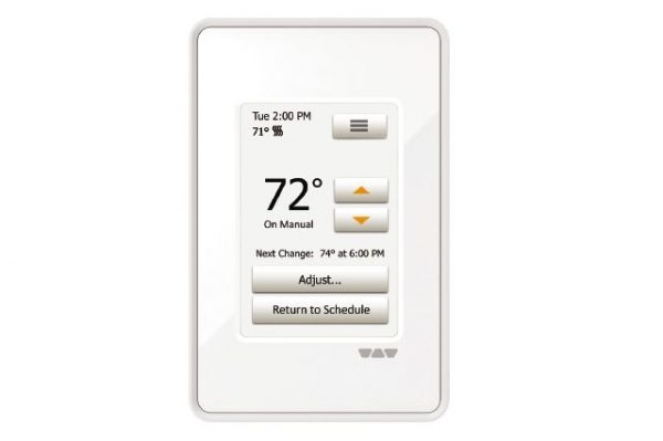 Schluter Ditra Heat Touch Thermostat in White