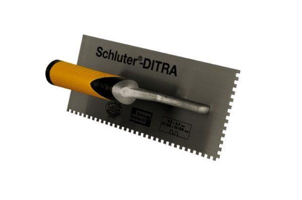 """Schluter Dietra Trowel 11/64"""" X 11/64"""" Square notch"""