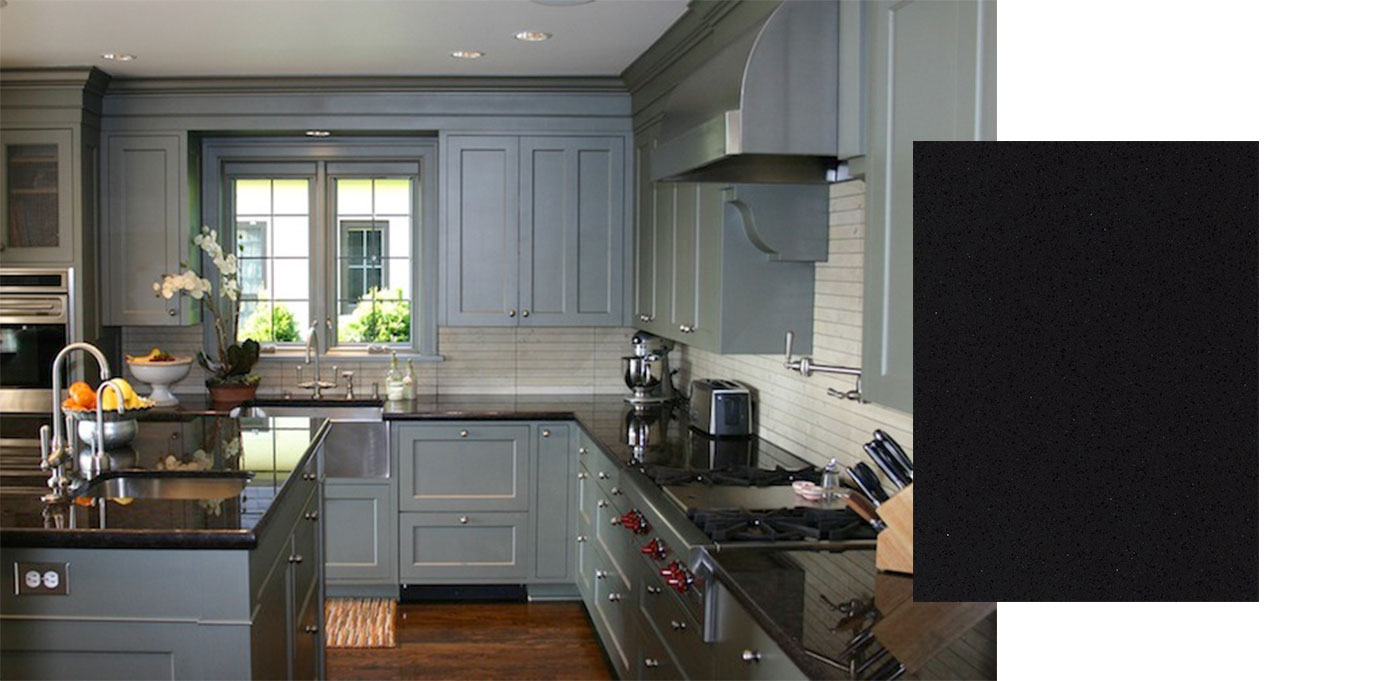 Gray Kitchen Cabinets White Countertops perfect countertops for grey cabinets - builders surplus