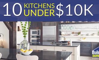 10 kitchens under 10,000