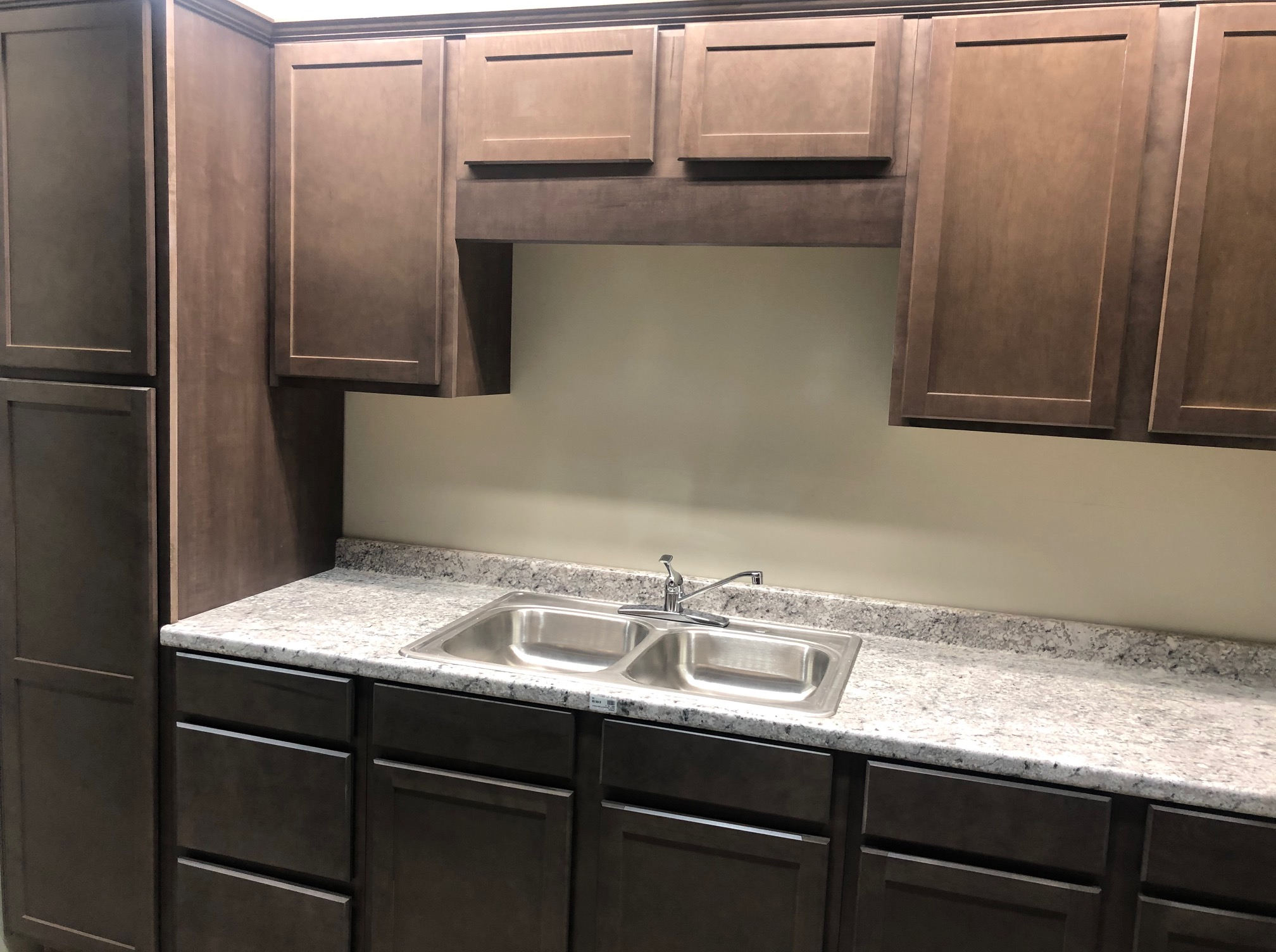 In stock maple stone shaker cabinets at Builders Surplus louisville and newport