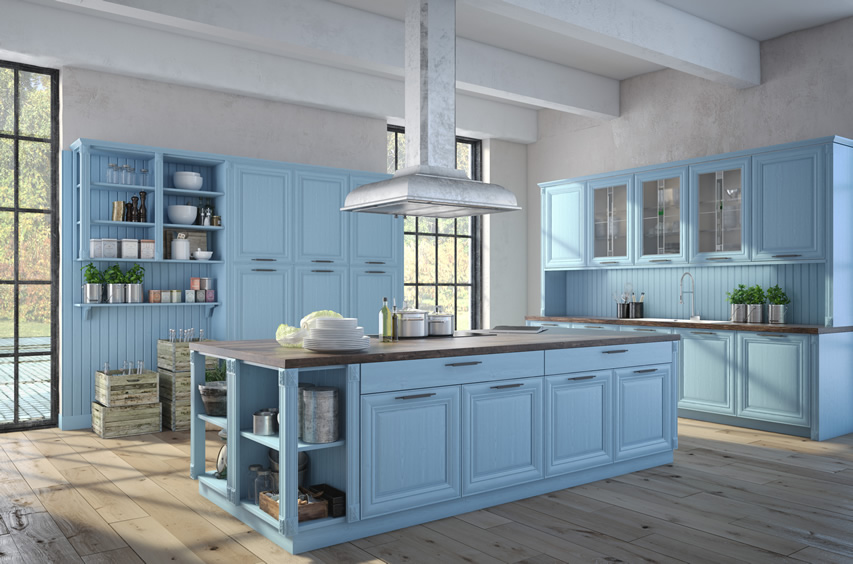 27-Blue-Kitchen-Ideas-Pictures-Of-Decor-Paint-Cabinet