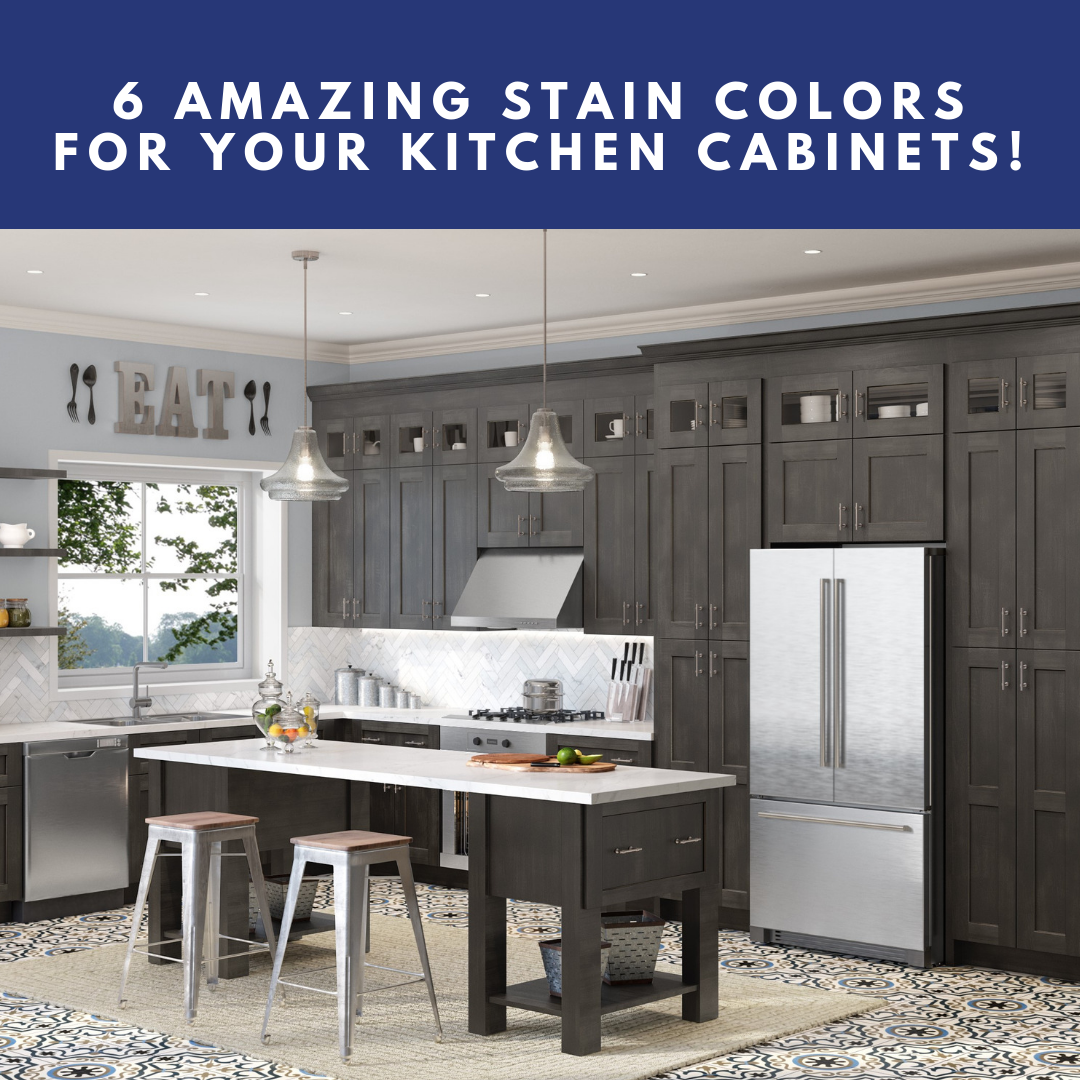 6 Amazing Stain Colors For Your Kitchen Cabinets! - Builders ...