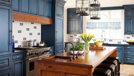 Our 8 Favorite Blue Cabinets