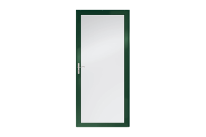 "Andersen 36"" Fullview Glass & Aluminum Single White Exterior Prehung  Storm Door at Builders Surplus in Louisville"