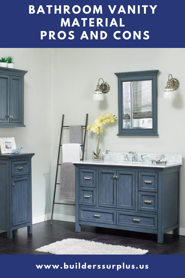 Bathroom Vanity Material – Pros and Cons