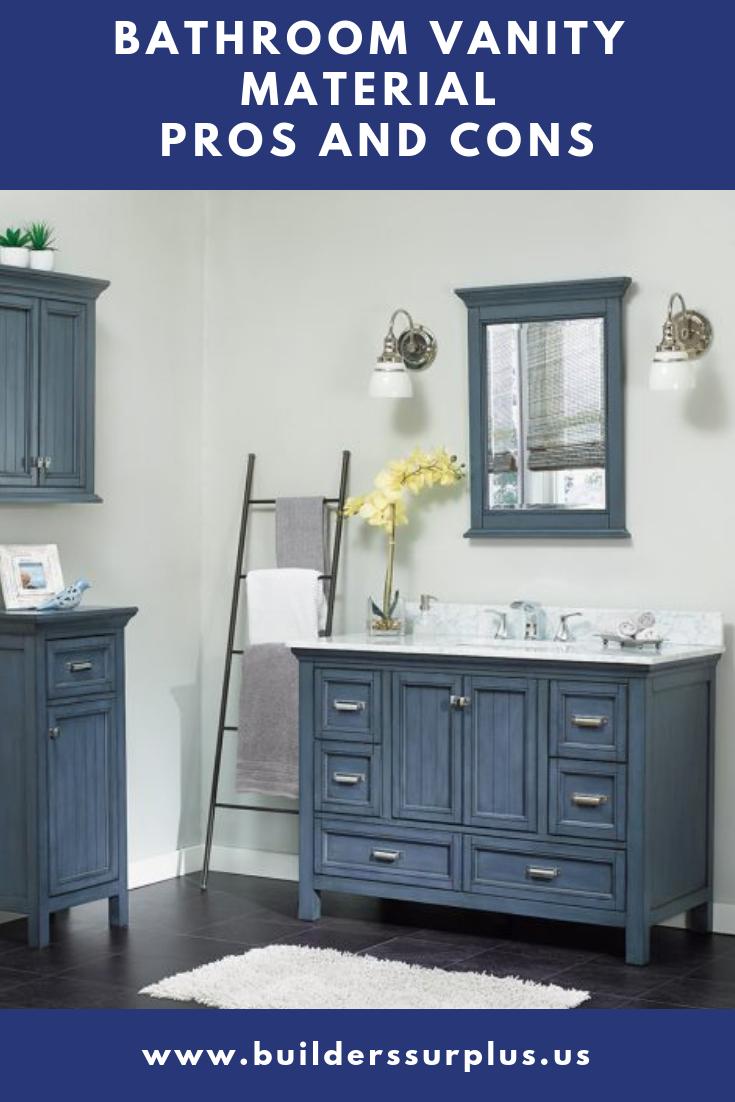 Bathroom Vanity Materials Pros And Cons Builders Surplus