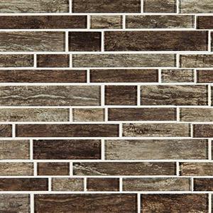 Antico Pewter Interlocking Mosaic Tile at Builders Surplus in Louisville Kentucky