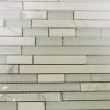 12 x 12 Bianco Carrara & Glass Random Mosaic Tile  at Builders Surplus in Louisville Kentucky
