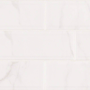 Classique White Carrara 4 x 16 Subway Tile at Builders Surplus in Louisville Kentucky
