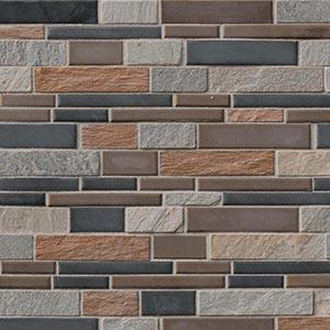 12 x 12 Cobrello Interlocking Mosaic Tile  at Builders Surplus in Louisville Kentucky