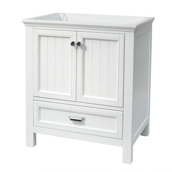 "30"" Brantley White Furniture Style Vanity"