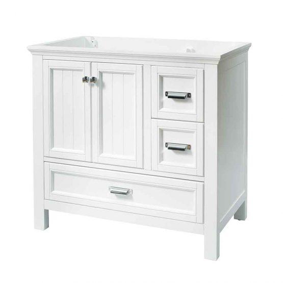 "36"" Brantley White Furniture Style Vanity"