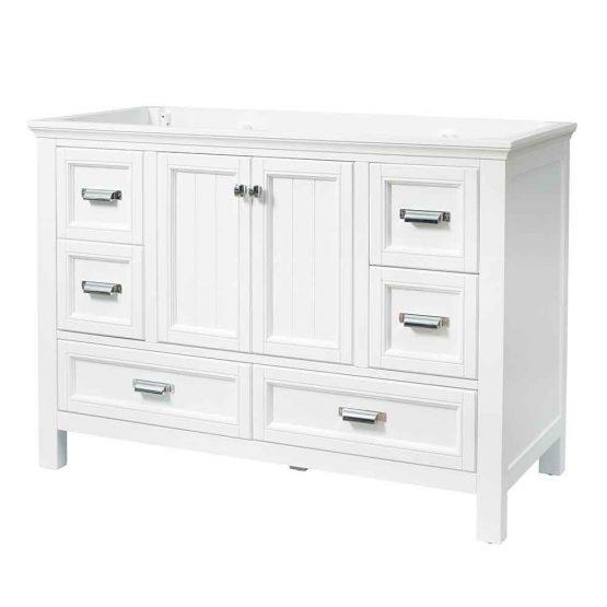 "48"" Brantley White Furniture Style Vanity"