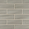 Highland Park Collection Dove Gray 4x12 Handcrafted Ceramic Tile at Builders Surplus in Louisville Kentucky