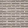 Highland Park Collection Dove Gray Brick Pattern Mosaic Tile at Builders Surplus in Louisville Kentucky