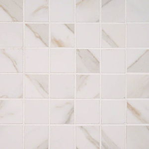 Pietra Calacatta 2 x 2 Mosaic Tile at Builders Surplus in Louisville Kentucky