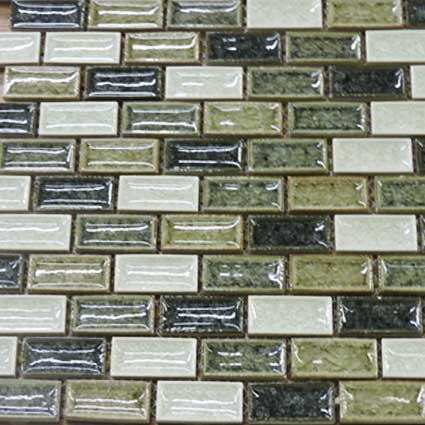 Sandy Beach Blend Brick Mosaic Tile at Builders Surplus in Louisville Kentucky