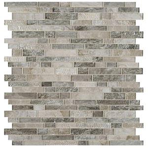 12 x 12 Savoy Interlocking Mosaic Tile  at Builders Surplus in Louisville Kentucky