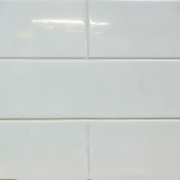 4x16 Glossy White Ceramic Subway Tile Builders Surplus