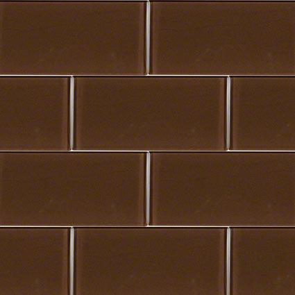 Cinnamon Glass Subway Tile at Builders Surplus in Louisville Kentucky