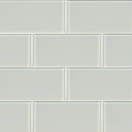 Arctic Ice Glass Subway Tile at Builders Surplus in Louisville Kentucky