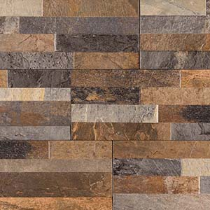 6 x 24 Dekora Rocky Gold Ledge Stone Tile at Builders Surplus in Louisville Kentucky