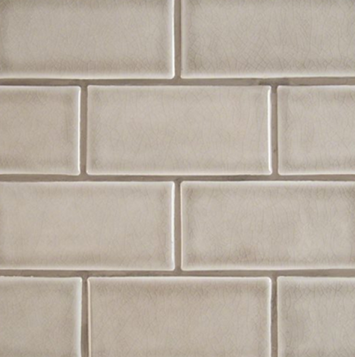 Highland Park Collection Dove Gray 3x6 Handcrafted Subway Tile at Builders Surplus in Louisville Kentucky