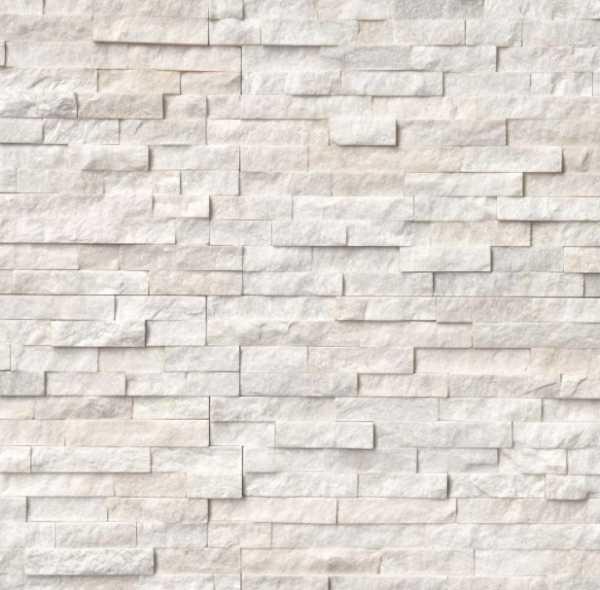Arctic White Ledger Panel 6 in. x 24 in.