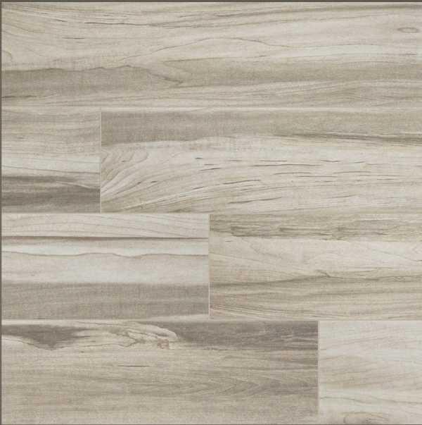 Carolina White Wood Look Tile
