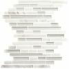 12 x 12 Bianco Carrara & Glass Random Mesh Back at Builders Surplus in Louisville Kentucky