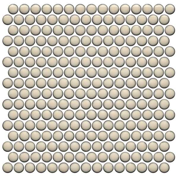 Penny Round Mosaic 12X12 Pearl at Builders Surplus in Louisville Kentucky