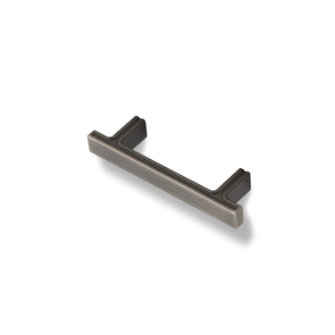 """Anwick 4-5/16"""" OL Rectangle Cabinet Pull. Holes are 3"""" center-to-center."""
