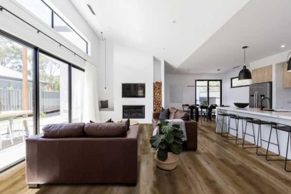 Blythe Luxury Vinyl Tile Room