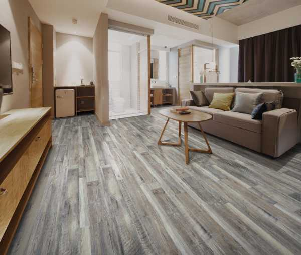 Solitary Grey Room